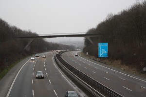 A44 in Richtung Persebeck