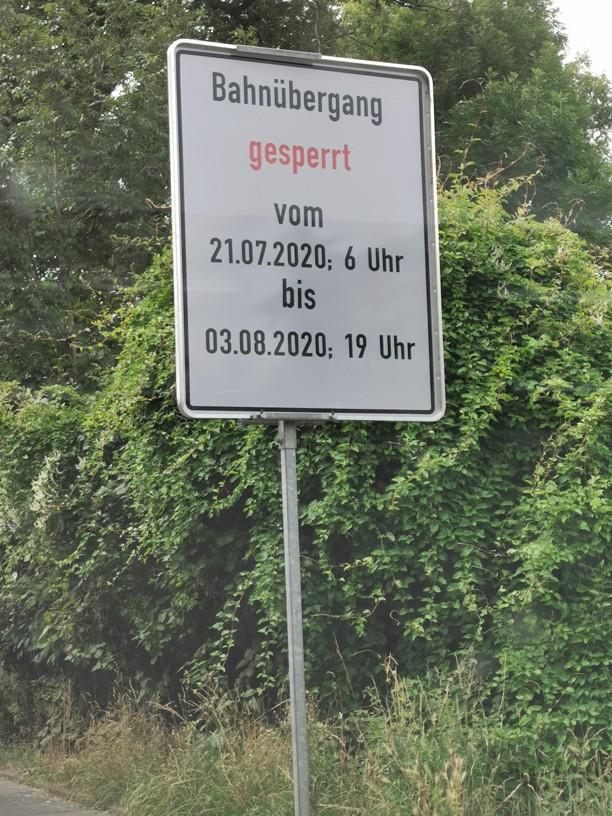 DB Baustelle in Kruckel