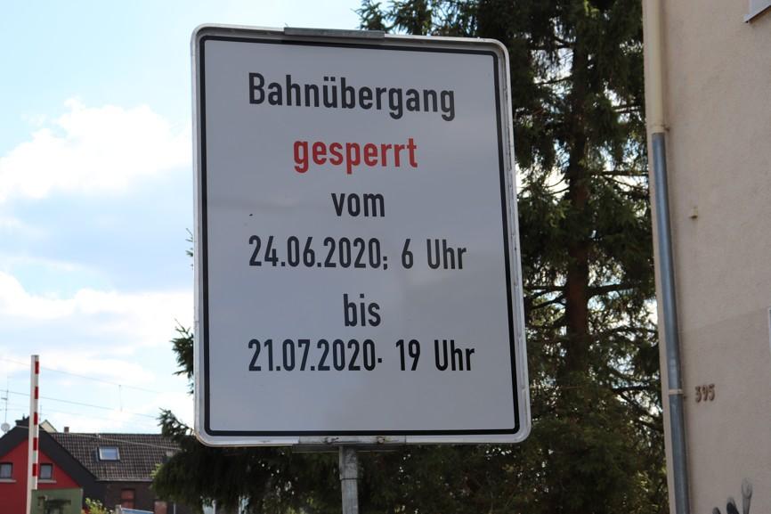 DB Baustelle in Persebeck