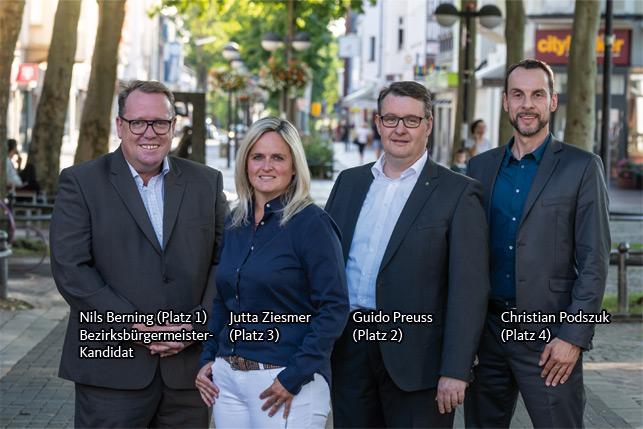 BV-Kandidaten für Hombruch 2020