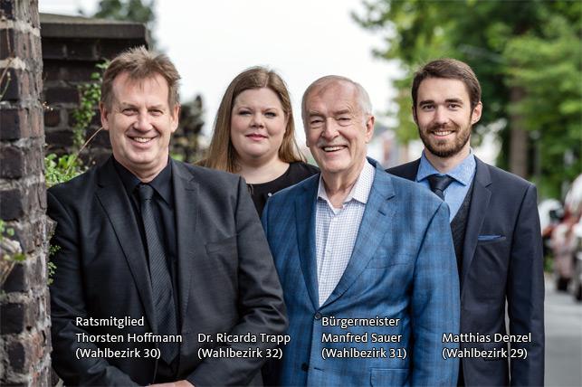 Ratskandidaten für Hombruch / 2020