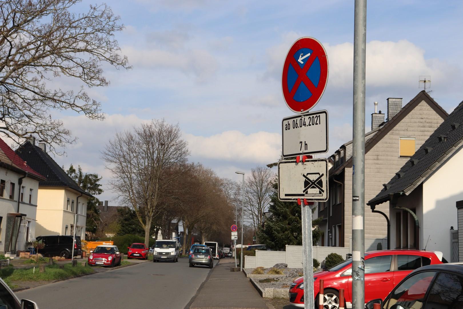 Halteverbot in Witten